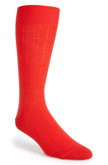 Calibrate Solid Merino Wool Blend Socks