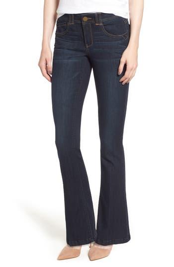 Women's Wit & Wisdom Ab-Solution Itty Bitty Bootcut Jeans