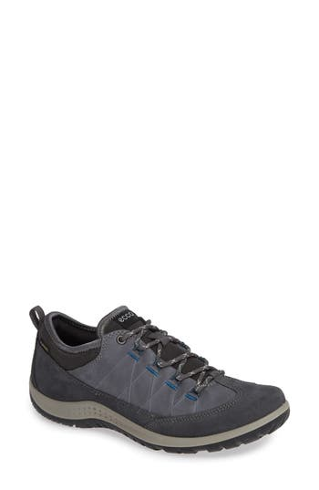 UPC 809704562018 product image for Women's Ecco 'Aspina Gtx' Waterproof Sneaker, Size 9-9.5US / 40EU - Grey | upcitemdb.com
