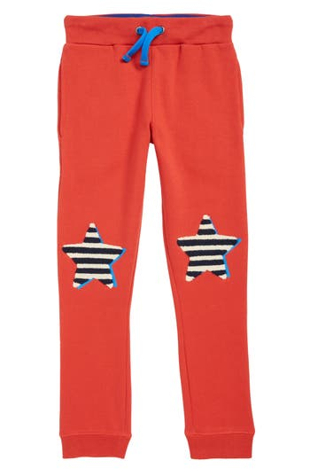Boys Mini Boden Applique Jogger Pants