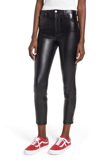 Tinsel High Waist Faux Leather Skinny Pants