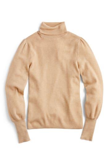 J.Crew Balloon Sleeve Turtleneck Sweater