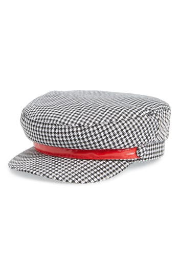 BP. Houndstooth Baker Boy Cap