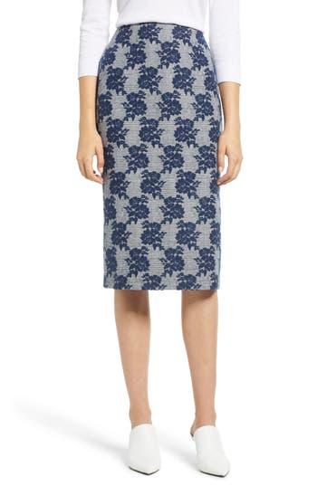 Halogen® Mixed Pattern Pencil Skirt