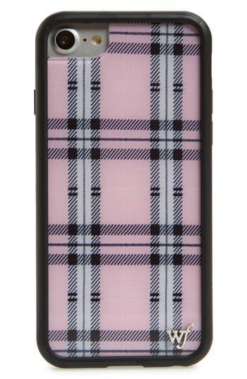 wildflower Tartan Plaid iPhone 6/7/8 Case