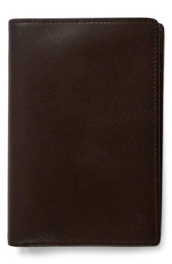 Boconi 'Grant' RFID Blocker Leather Passport Case