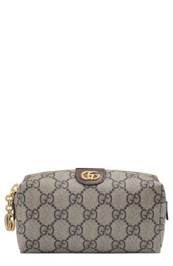 Gucci Mini Ophidia Canvas Cosmetics Pouch