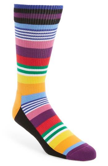 Happy Socks Athletic Multistripe Socks