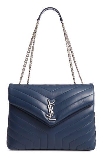 Saint Laurent Medium Loulou Calfskin Leather Shoulder Bag