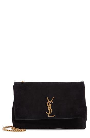 Saint Laurent Kate Reversible Leather Shoulder Bag