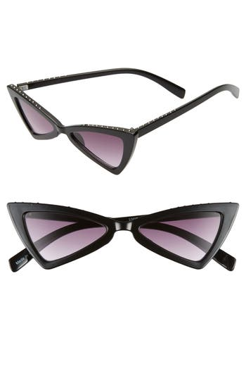 Leith 52mm Stud Cat Eye Sunglasses