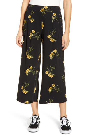 BP. High Waist Soft Wide Leg Crop Pants