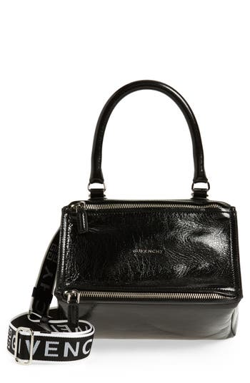 Givenchy Small Pandora Leather Shoulder Bag