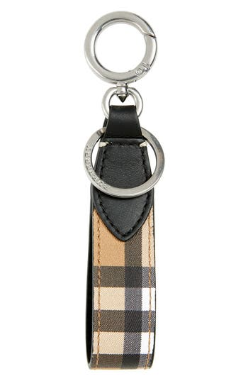 Burberry Leather Key Ring