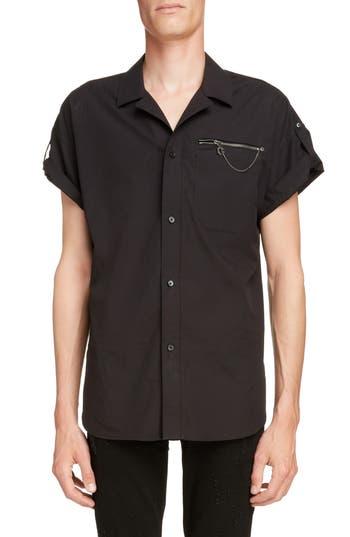 Givenchy Zip Pocket Woven Shirt