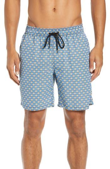 Mr. Swim Geometric Swim Trunks