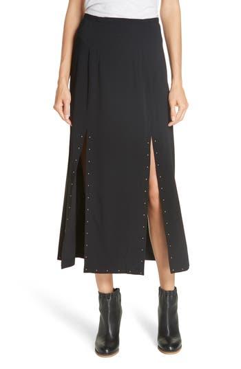 See by Chloé Slit Detail Midi Skirt