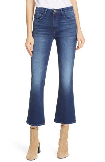 FRAME Le Crop Mini Boot Jeans (Bustle Blvd)