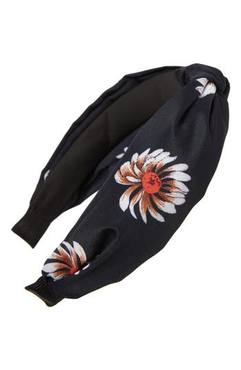 Cara Sunflower Knot Headband