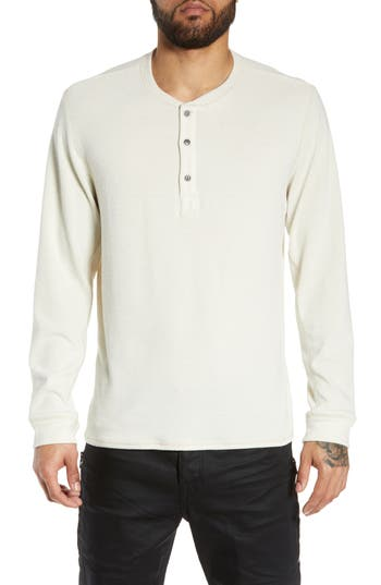 Treasure & Bond Slim Fit Henley Shirt