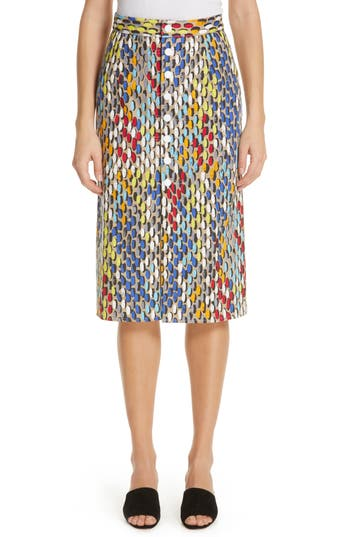 Simon Miller Tire Track Denim Skirt