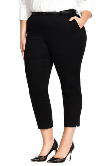 City Chic Desire Crop Pants