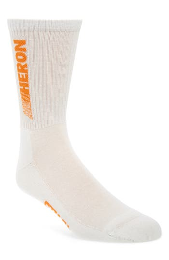 Heron Preston Heron Racing Crew Socks