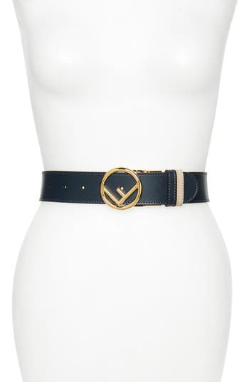 Fendi F Is For Fendi Reversible Leather Belt