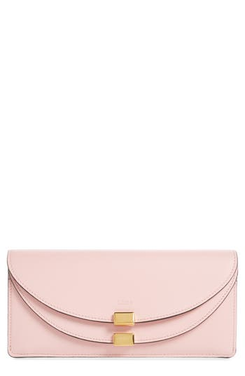Chloé Georgia Slim Continental Leather Wallet