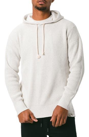 ZANEROBE Waffle Knit Pullover Hoodie
