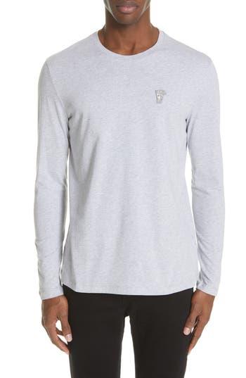 Versace Collection Medusa Long Sleeve T-Shirt