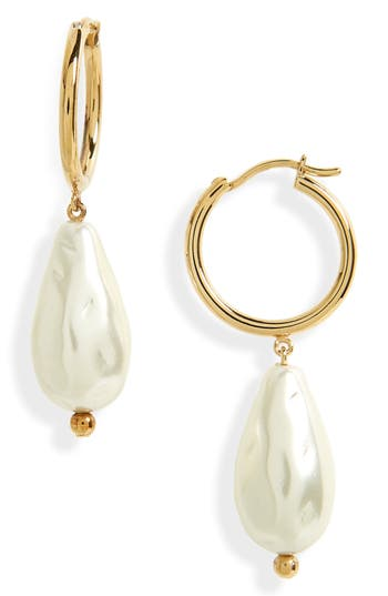 Simone Rocha Baroque Imitation Pearl Earrings