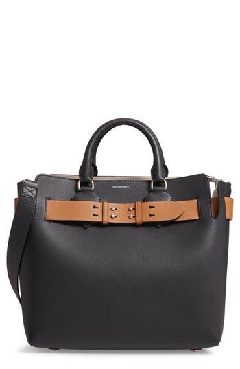 Burberry Medium Belt Bag Leather Tote