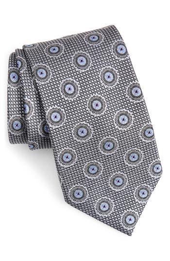 Nordstrom Men's Shop Medallion Silk X-Long Tie