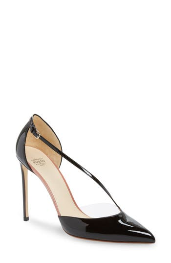 Francesco Russo Cross Strap Pump
