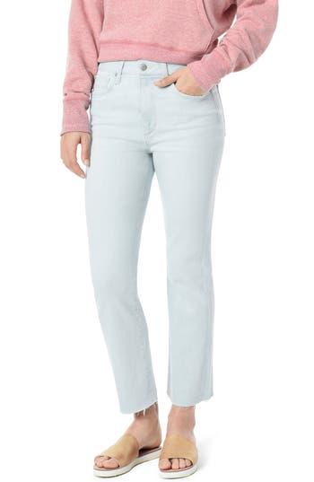 Joe's The Callie High Waist Raw Hem Crop Bootcut Jeans (Haydin)