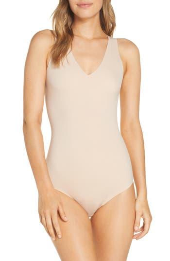 True & Co. True Body V-Neck Thong Bodysuit