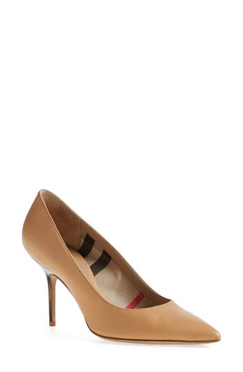 Women's Burberry 'Mawdesley' Pointy Toe Pump at NORDSTROM.com
