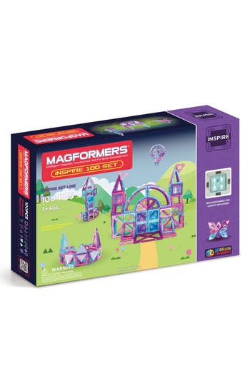 Boys Magformers Inspire Magnetic Construction Set