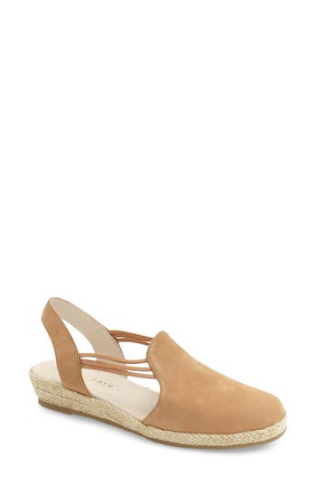David Tate 'Nelly' Slingback Wedge Sandal