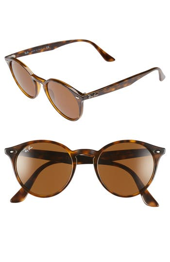 Ray-Ban Highstreet 51Mm Round Sunglasses -