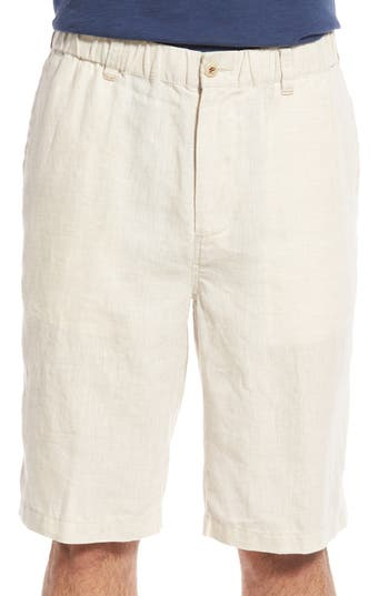 Tommy Bahama Big & Tall - Big Tall Linen Out Loud Short (Natural) - Apparel