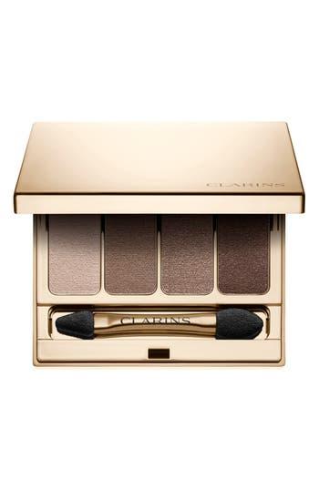 Clarins 4-Colour Eyeshadow Palette - Brown