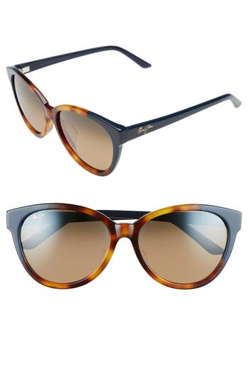 Maui Jim Sunshine 5m Polarizedplus2 Sunglasses - Tortoise/ Navy Blue/ Bronze