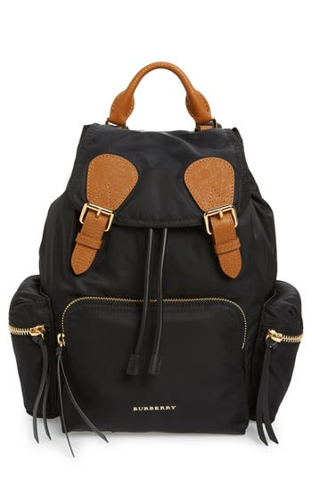 Burberry 'Medium Runway Rucksack' Nylon Backpack