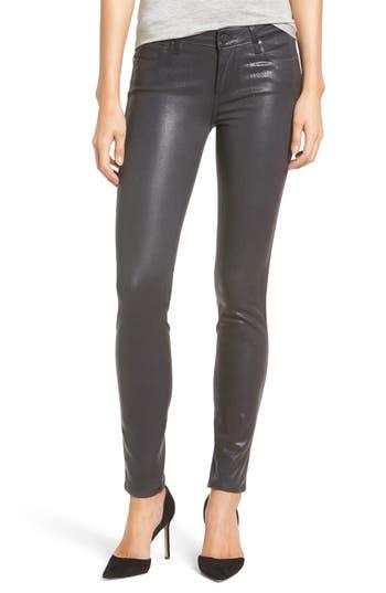 Paige Transcend - Verdugo Coated Ultra Skinny Jeans