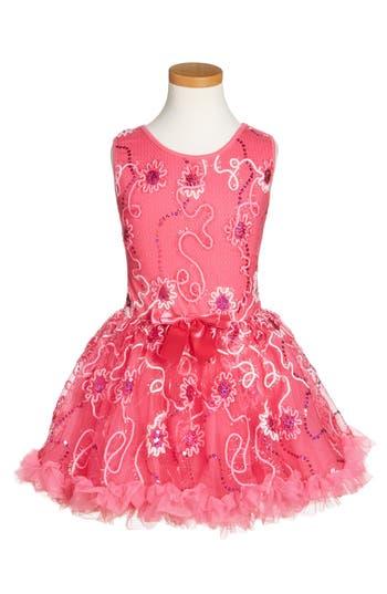 Girl's Popatu Sleeveless Sequin Dress