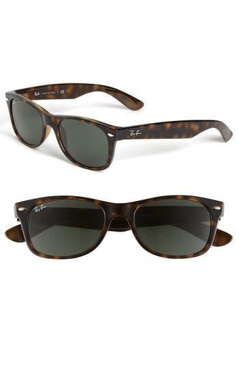Ray-Ban Small New Wayfarer 52Mm Sunglasses - Dark Tortoise