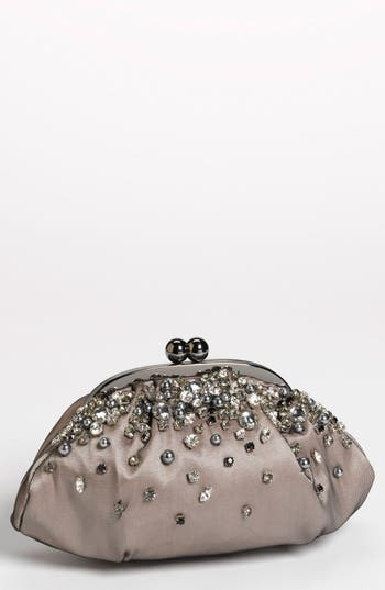 Menbur 'Vintage Bride' Clutch - Black