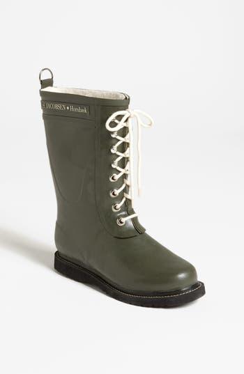 Ilse Jacobsen Hornbaek Rubber Boot Green